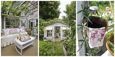 """See How This Neglected Potting Shed Was Turned Into a Glamorous """"She Shed"""""""