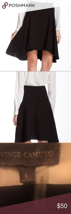 ❤️LAST CHSNCE❤️NWT Vince Camuto Asymmetrical Skirt NWT and sold out everywhere. Size 6. PRICE FIRM Vince Camuto Skirts