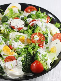 Big Meals, Quick Meals, Caprese Salad, Food Porn, Good Food, Food And Drink, Vegetarian, Lunch, Healthy Recipes