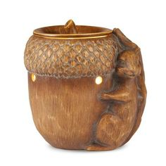 Better Homes and Gardens Gathering Squirrel Wax Warmer, Brown