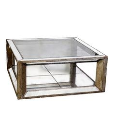This Mirrored Coffee Table is perfect! #zulilyfinds