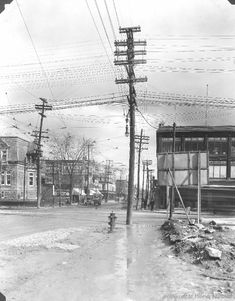 Rachel & St. Denis looking East : Before / S.J. Hayward . - 21 mars 1929 - Archives de Montréal
