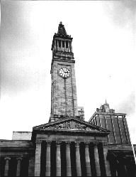 Brisbane City Hall (Australia) has at least 4 ghosts - one is said to be female & frequents the foyer, foyer stairs and mezzanine balcony overlooking the foyer; one is rumoured to haunt an entire wing of City Hall that was subsequently shut down for decades as a result, one  is alleged to be that of a WWII American sailor who was stabbed to death in the Red Cross Tea Rooms beneath City Hall and the Lift Attendant's phantom that haunts the renowned tower of City Hall.