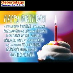 Geburtstagswunsche Geburtstagskarte Whatsapp Facebook Geburtstag