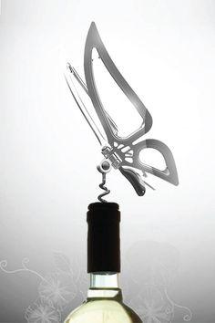 Butterfly's Affair Wine Opener Jinyoung Design Studio - 1