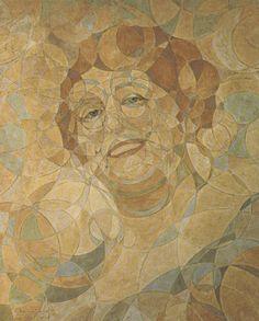 Mulher em Círculos, de Belmiro de Almeida (1921)