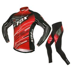 Mens Bike Jersey and 3D Padded Compression Pants Tights Set Outfit,Basecamp Boy Mountain Road Cycle Bike Riding Clothes Bicycle Jersey Long Sleeve Sportswear Clothing Cycling Jerseys ** Check out this great product.