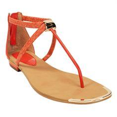 Isolá Adelina Snake-Embossed Thong Sandal #VonMaur #Isola #Strappy