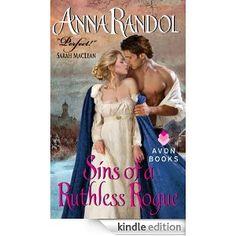 """""""Sins of a Ruthless Rogue,"""" Anna Randol."""