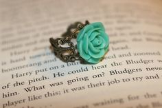 Beautiful rose ring. I bought one this week and I LOVE it!! Love shopping on Etsy!!