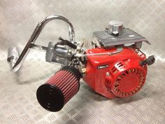 honda 5.5 engine go kart - Google Search Custom Trikes, Custom Cars, Go Kart Motor, Homemade Tractor, Bicycle Engine, Go Kart Racing, Custom Golf Carts, Motorised Bike, Honda Motors