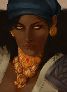 kingsiha:  isabela from dragon age: inquisition!! she had some wrinkles n…