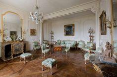 The apartment of Madame de Pompadour at Versailles.