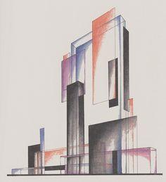 Iakov Chernikhov, Composition 199