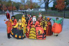 Halloween Revelers at Greenfield Village