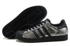 wholesale dealer c4ef8 70193 Adidas Superstar 2 Mens Silver Black