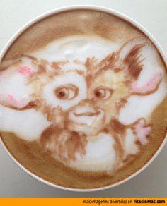 Latte Art: Gizmo Maybe something for https://Addgeeks.com ?