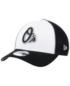 New Era Baltimore Orioles Pop Reflective 39THIRTY Cap - Black L/XL