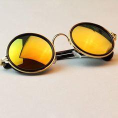 0f0bacd6b80 New Fashion glasses Women men Fashion retro roundness colours Sunglasses  summer 7 colors glasses