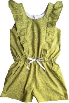 The Ruffle Playsuit...