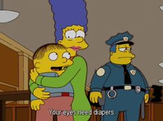 The Simpsons Way of Life Funny Reaction Pictures, Funny Pictures, Funny Pics, Incredible Cartoon, Stupid Funny Memes, Hilarious, Ralph Wiggum, Simpsons Characters, Cartoon Quotes