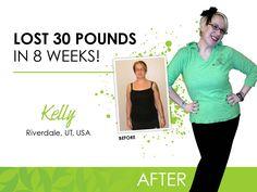 My friend Kelly- Ultimate Makeover: Kelly lost 30 pounds in 8 weeks! Bodywrapmomma.myitworks.com