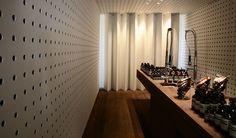 Aesop Paddington / perforated panel
