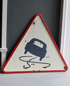 1970's French road sign