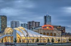 With light-rail, bus and Amtrak service, the station is again the city's transportation hub.