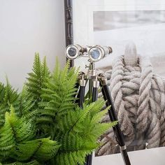 Our Mayer silver & black binoculars add a nautical ouch in an elegant way. Get yours in store or online now 