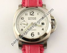MARINA MILITARE 40MM WHITE dial Automatic WATCH - 40mm Marina Militare - Parnis watch station