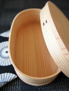秋田杉曲げわっぱ  Lunch Box of Akita cedar