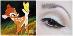 Blog of Shadows - 52 weeks of Disney - Bambi make up look