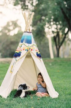 This thing in a teepee! | Inspired by this Family Shoot in a TeePee