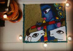 govardhan diwali rangoli by Aparajita sharma