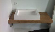 Waschbecken mit Schlitz, rechteckige Waschbecken eckiges Waschbecken, Mineralgusswaschbecken, Mineralguss, Design Waschbecken,