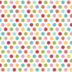 {everyday} big multi dots fabric by misstiina on Spoonflower - custom fabric