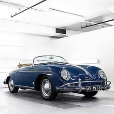Porsche 356 Speedster Photo @elitedetailer