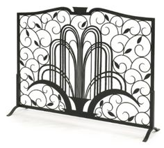 EDGAR BRANDT  FIRE SCREEN