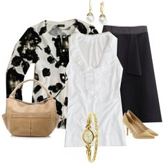 """""""Black Blossom Cardi.."""" by cinnamongal on Polyvore"""