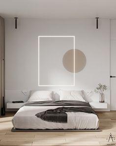 MI.R on Behance Home Room Design, Room Ideas Bedroom, Modern Bedroom Design, Bedroom Layouts, Master Bedroom Design, Luxury Interior Design, Bedroom Decor, Furniture Design, Behance