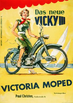 Mid-Century Victoria Moped poster  http://www.vintagevenus.com.au/products/vintage_poster_print-tr228