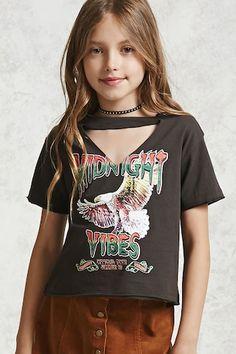 Girls Midnight Vibes Tee (Kids)