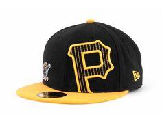 Pittsburgh Pirates New Era MLB Double Stitch 59FIFTY Hats
