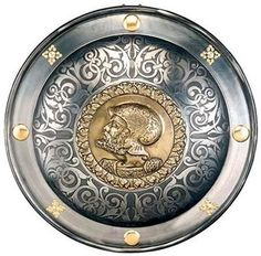 Spanish Round Shield 16th Century Charles V