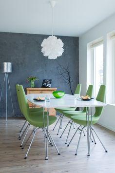 Ergonomische Stühle-Esszimmermöbel Grün