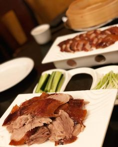"""""""Very few restaurants can achieve this quality - I'm in heaven."""" Call to reserve one of the 20 daily Peking Ducks! Best Chinese Food, Authentic Chinese Recipes, Peking Duck Restaurant, San Francisco Food, Dim Sum, Ducks, Chili, Seafood, Restaurants"""