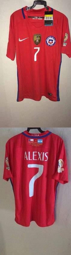 Soccer-National Teams 2891: 2016 Chile Champion Copa America Alexis Sanchez #7 Football Jersey Size S-Xl -> BUY IT NOW ONLY: $32.99 on eBay!