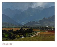 John Meyer is one of South Africa's leading contemporary realists. Born Meyer has put his indelible stamp on the genres of landscape, portraiture and narrative art. John Meyer, All Over The World, Kai, Fine Art, Mountains, Landscape, Illustration, Travel, Paintings