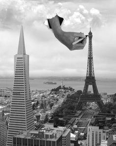 토마스 바베이의 꿈과 이상을 표현한 극사실주의 눈에 보이는 그대로를 사실적으로 표현하는 극사실주의와는 달리 이성의 지배를 받지 않고 공상과 환상 등 작가의 자유로운 세계를 중시하는 초현실주의는 1,900년대